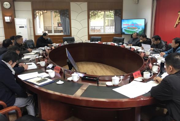 省住建厅樊晟副厅长带队现场检查都江堰风景名胜区圣兴电站