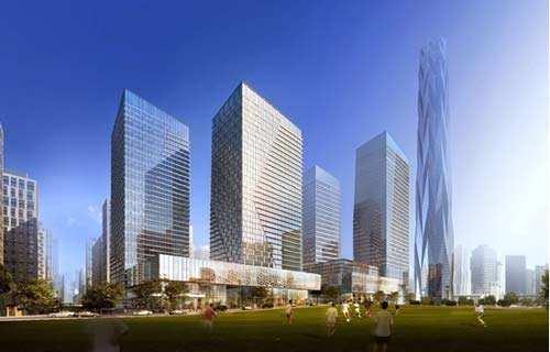 2017年全球144处高层建筑完工 中国占比最大