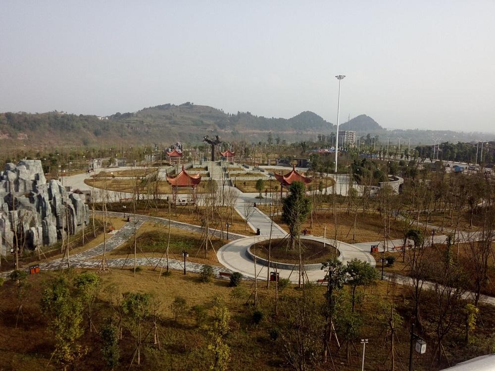 八濛山公园